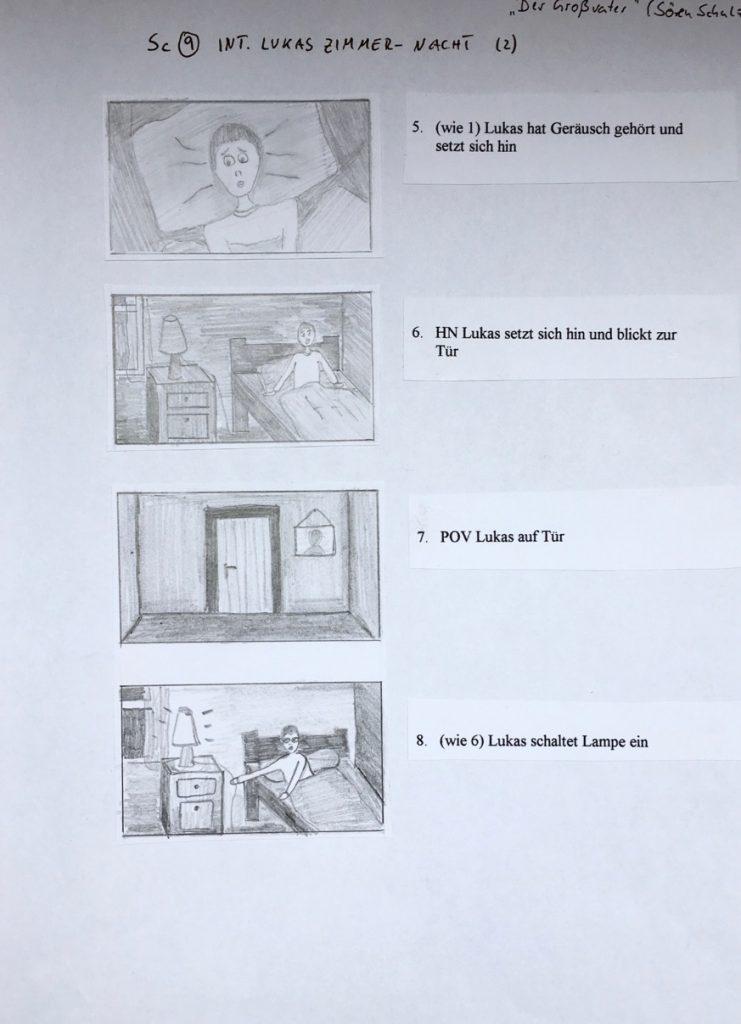 Storyboard The Last Goodbye