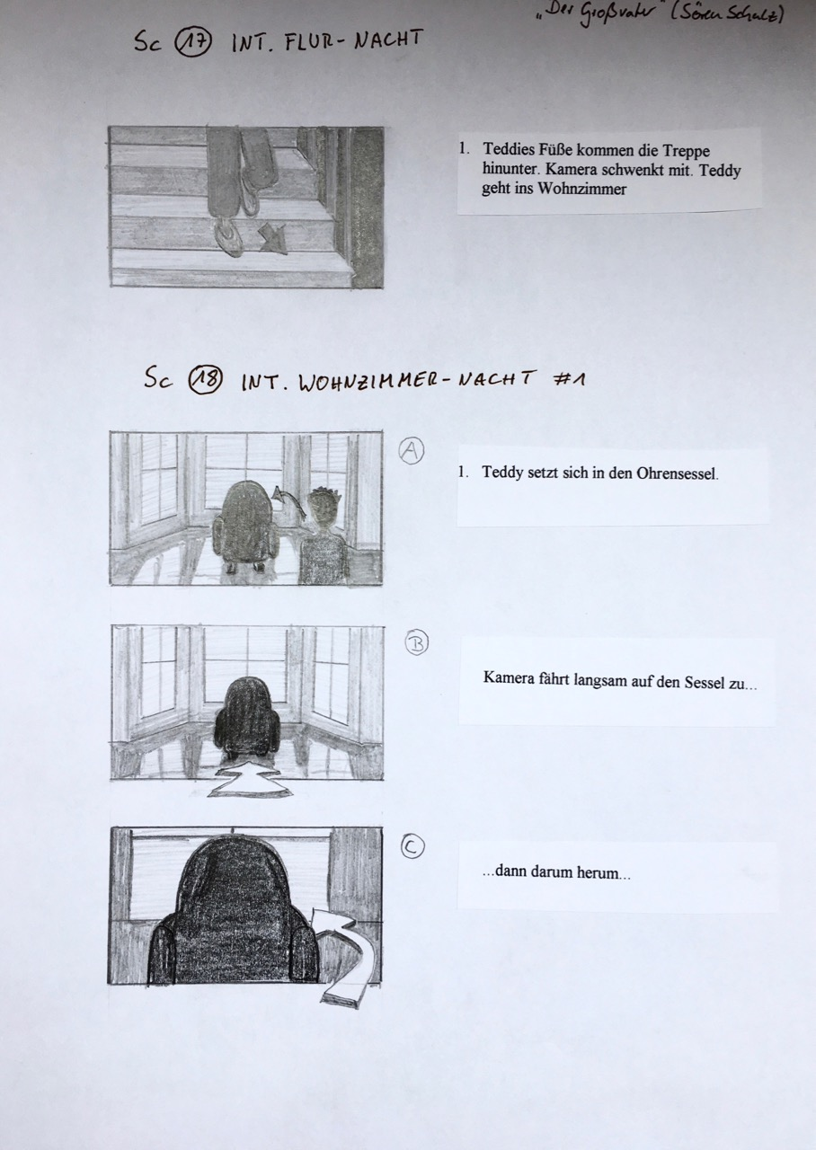 Storyboard The Last Goodbye