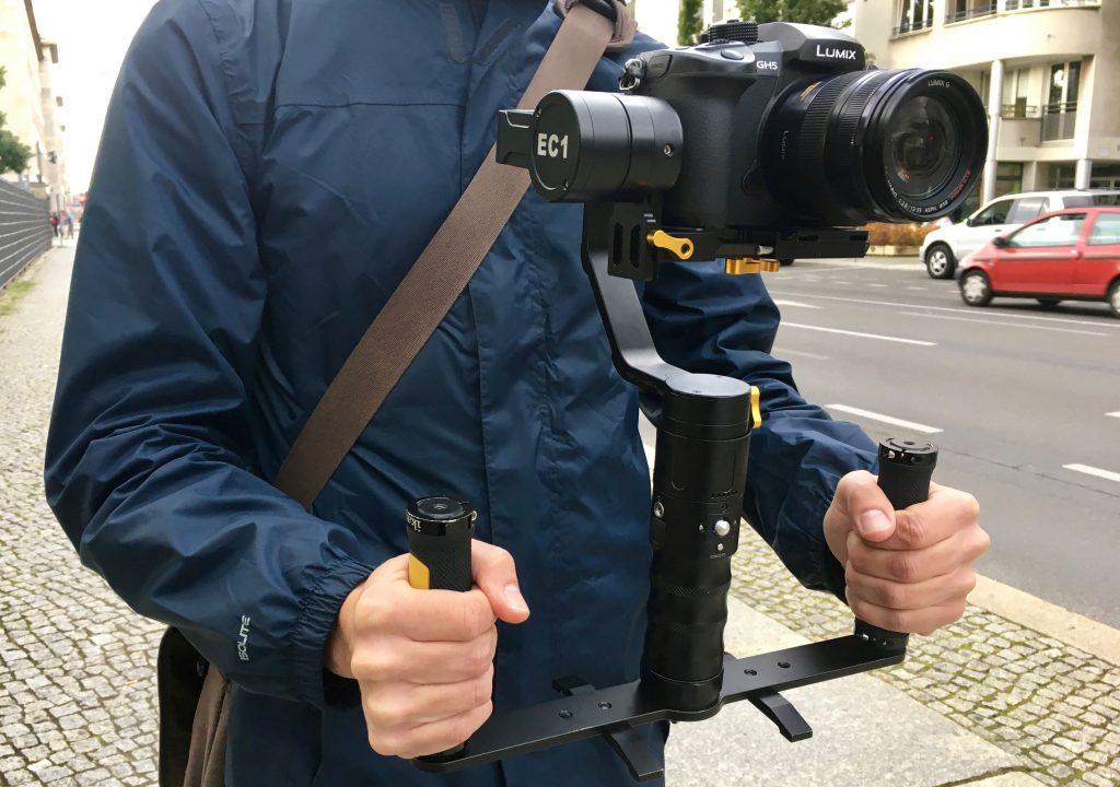 Ikan Beholder EC1 Gimbal with Dual Grip Handle