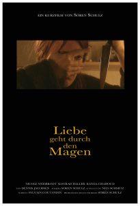 """Poster """"Liebe geht durch den Magen"""""""