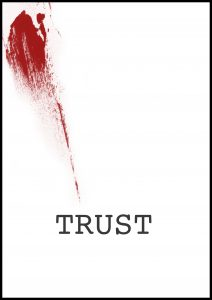 Poster for short film Trust