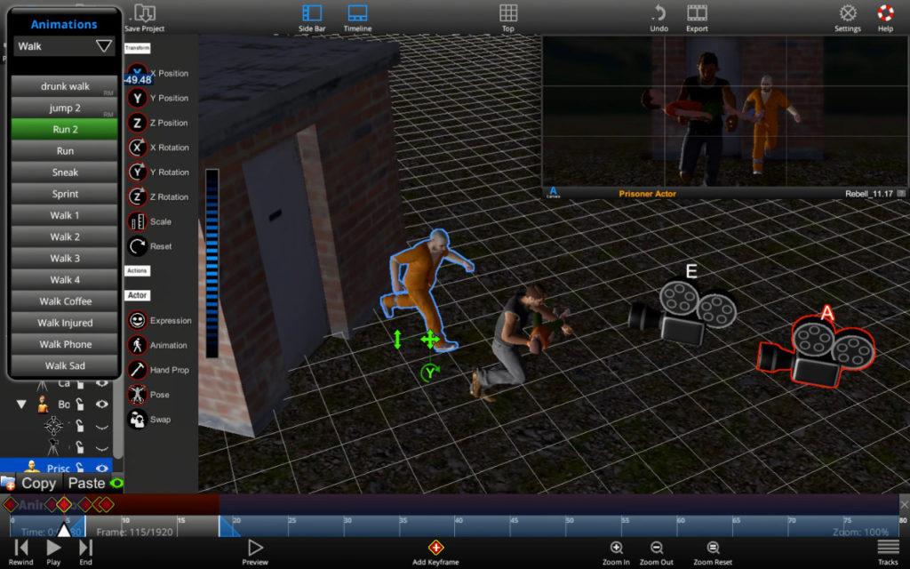 User Interface ShotPro